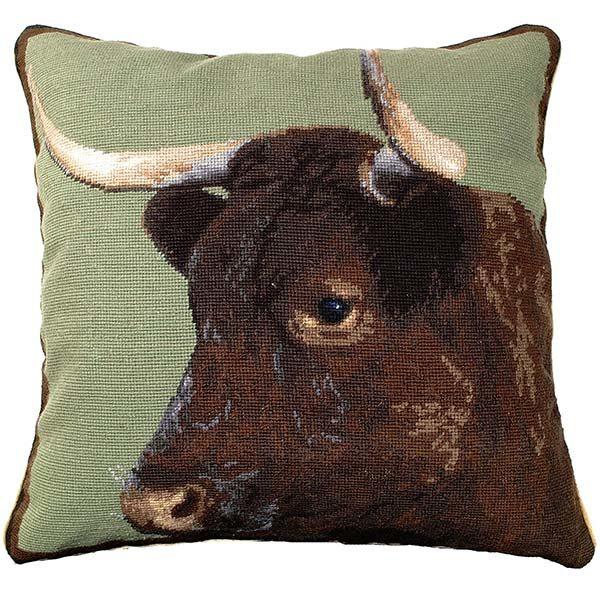 devon milking cow michaelian home throw pillow