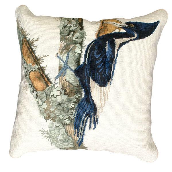 ivory billed woodpecker michaelian home throw pillow