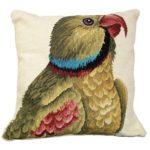 parrot facing right michaelian home throw pillow