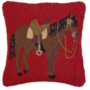 paddock pony chandler 4 corners pillow