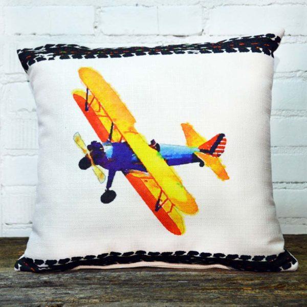 airplane pillow little birdie