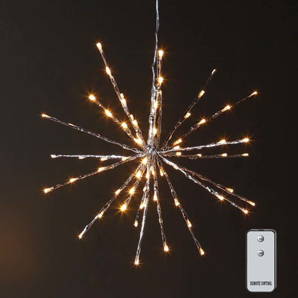 "Raz Imports, 18"" Lighted Starburst with Remote"