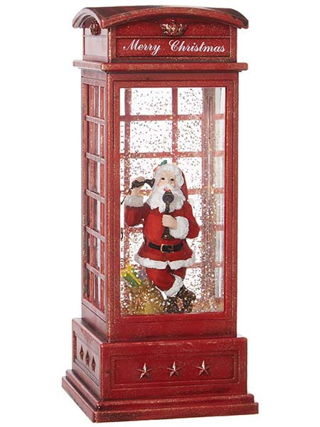 santa telephone booth