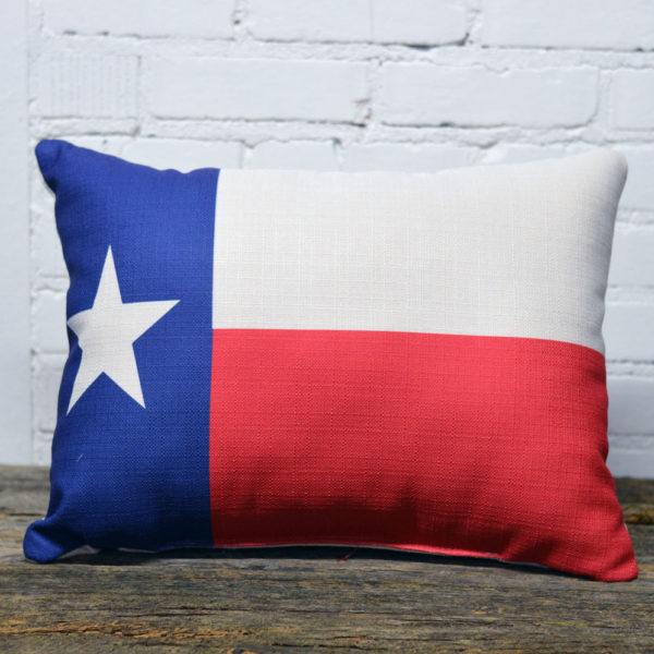 texas state flag pillow little birdie