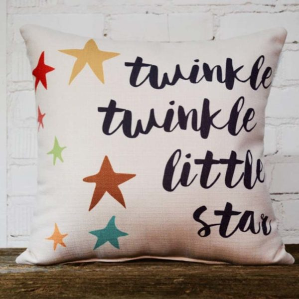 twinkle twinkle pillow little birdie