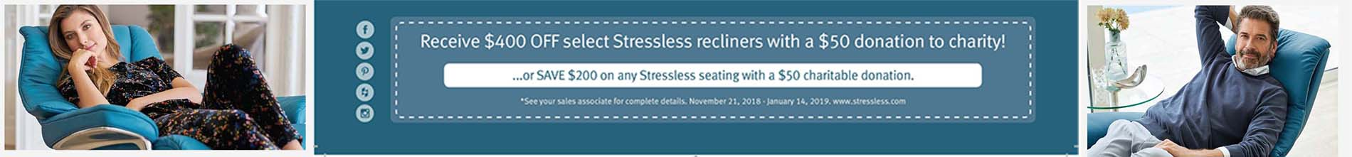 stressless charity promotion