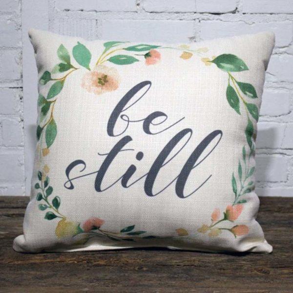be still pillow little birdie
