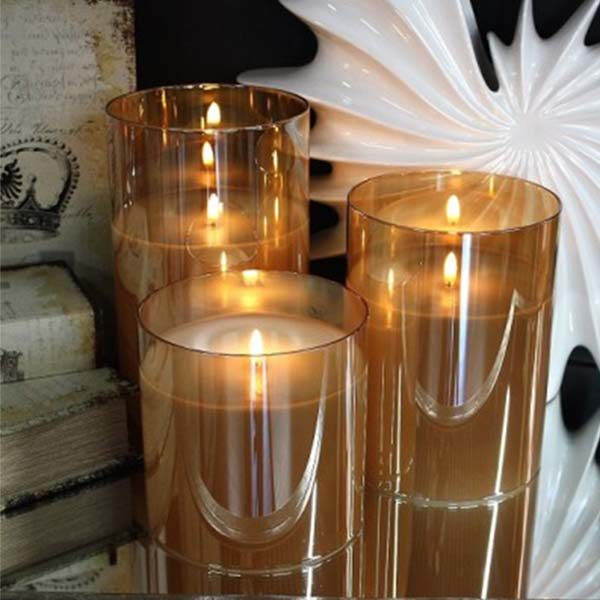 radiance candles set light garden