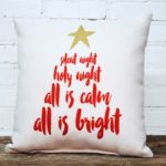 silent night pillow little birdie