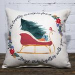 sleigh ride together with you pillow little birdie