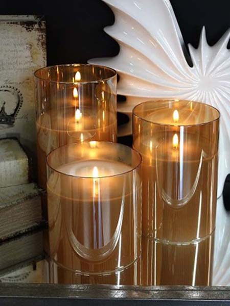 light garden radiance candles