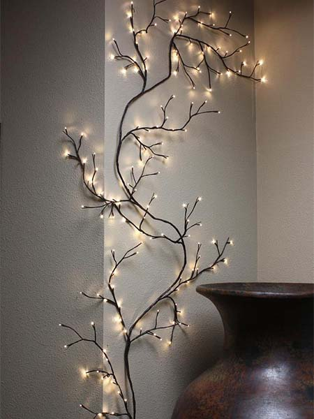 willow vine 90 inch light garden