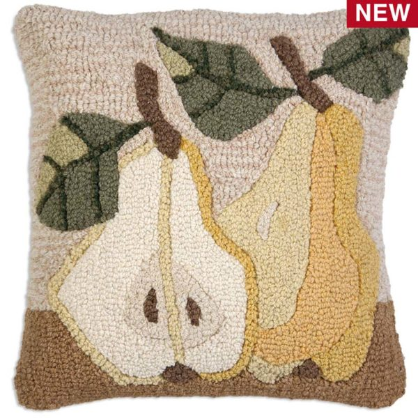 two pears chandler 4 corner throw pillow