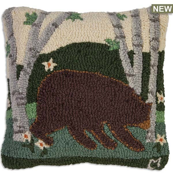 summer bear throw pillow chandler 4 corners