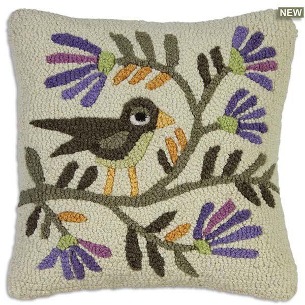folk bird blossom throw pillow chandler 4 corners