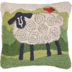 Sheep Chandler 4 Corners throw pillow