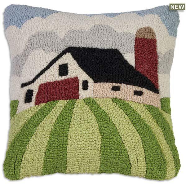 White Barn Chandler 4 corners throw pillow