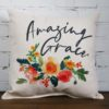 Amazing Grace Camille throw pillow Little Birdie