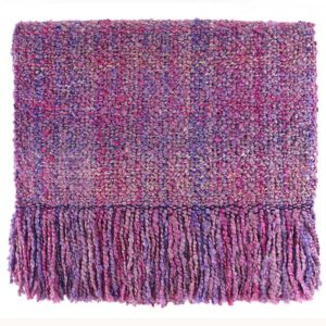 campbell berry woven throw