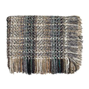 Ombre Platinum Throw Bedford Collections