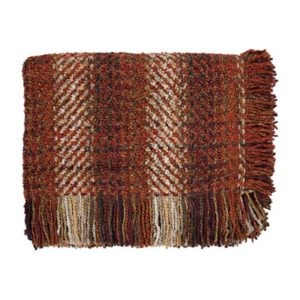 ombre russet throw bedford collections